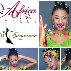 MISS CAMEROON USA 2015, VINIELLE ACHA-MORFAW FOR MISS AFRICA USA 2015