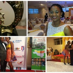 #INSPIRED: FILM MAKER, GORETTI RECEIVES AWARD FROM THE UK CAMEROON FILM AND MOVIE ACADEMY