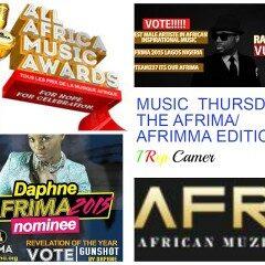 MUSIC THURSDAY: THE AFRIMA/AFRIMMA EDITION