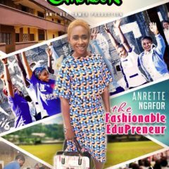 [AROUND CAMEROON] DEBUTS WITH ANRETTE NGAFOR, THE FASHIONABLE EDUPRENEUR