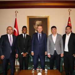 THE PRESIDENT OF TURKEY AND GOVERNMENT OFFICIALS SUPPORT THE ETO'O CHARITY MATCH – RENDEZ VOUS JULY 16th 2016
