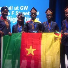 MEET THE TEENAGERS & COACH WHO REPRESENTED CAMEROON AT THE FIRST GLOBAL ROBOTICS COMPETITION IN THE UNITED STATES