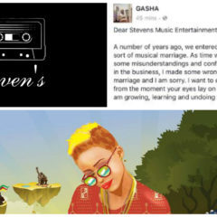 GASHA APOLOGIZES TO HER FORMER LABEL STEVENS MUSIC ENTERTAINMENT