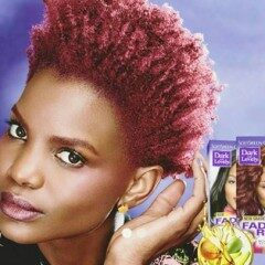 GELI FORLEFAC FEATURES IN THE DARK & LOVELY #LOVEMYCOLOUR AD
