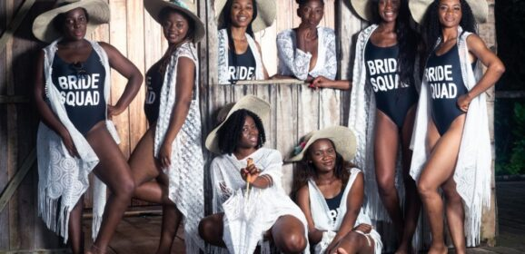 [SPOTLIGHT] BRIDE CASSANDRA & SQUAD'S BEACH THEMED SHOOT BY STUDIO 89