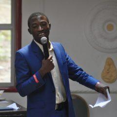 JOYBERT JAVNYUY [THE RAIN STORM RIDER] IS AN ADVOCATE FOR TRAINING & YOUTH EMPOWERMENT