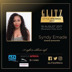 CAMER ACTRESS SYNDY EMADE TO PRESENT AN AWARD AT THE GLITZ STYLE AWARDS IN GHANA THIS SATURDAY!