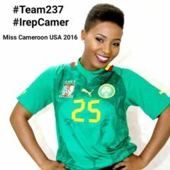 MISS CAMEROON USA 2016, JANNICK NCHAMUKONG's DAZZLING TRADITIONAL DANCE PERFORMANCE
