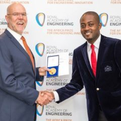 CAMpreneur CARDIOPAD INVENTOR, ARTHUR ZANG WINS AFRICAN ENGINEERING AWARD