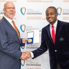 CAMpreneur CARDIOPAD INVENTOR, ARTHUR ZANG WINS AFRICAN ENGINEERING AWARD